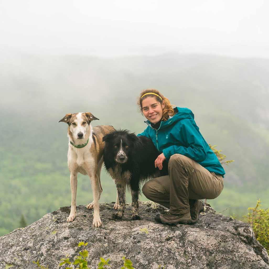 Lucile et ses chiens | Vita DogTeam | Vita Nutrition Animale - www.vitanutrition.ca
