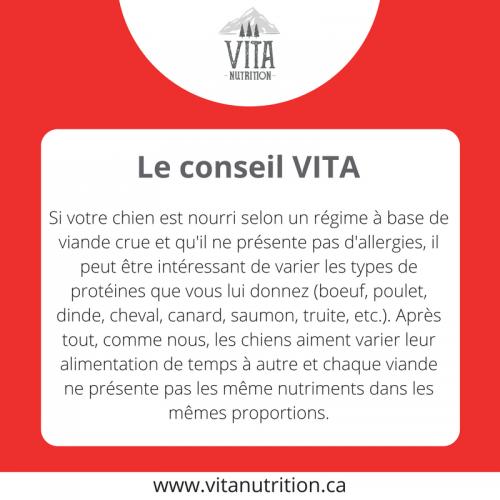 Varier les types de protéines | Le Conseil Vita | Vita Nutrition Animale - www.vitanutrition.ca