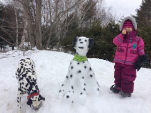 Bonhomme de neige | Vita DogTeam | Vita Nutrition Animale - www.vitanutrition.ca