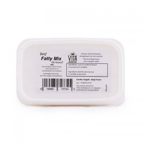 Beef Fatty mix vita nutrition animale