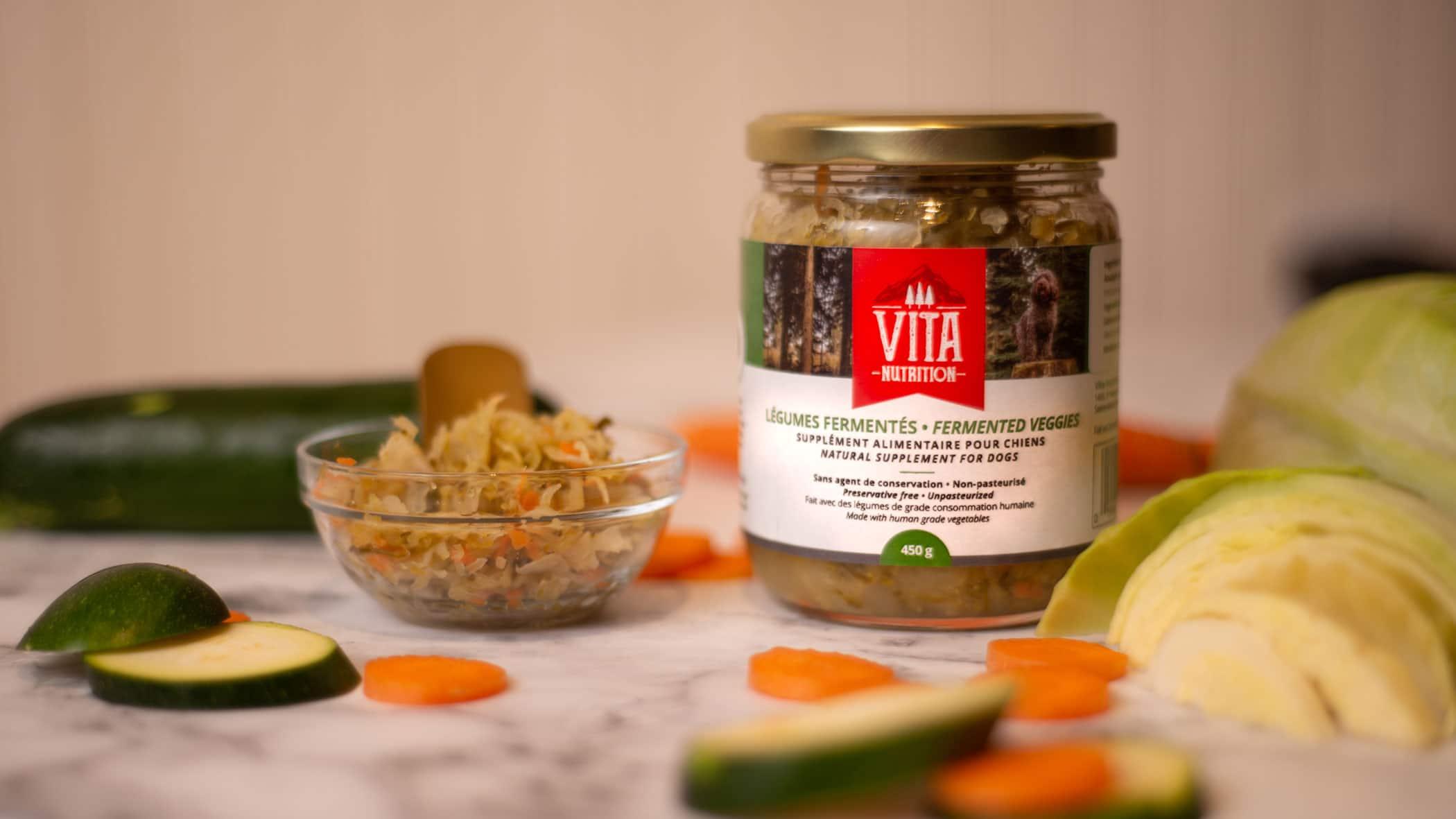 vita nutrition animale avantages légumes